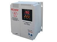Стабилизатор напряжения электронный (релейный) 3 кВт - Ресанта ACH-3000Н/1-Ц - настенный