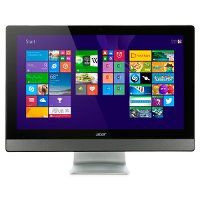 "Моноблок All-in-One PC's Acer  ZC-107 19.5""HD+ (1600x900) AMD Radeon R3 AMD A4-6210 Quad Core 1.8 GHz DVDRW+CR 802.11BGN 4 ГБ DDR3 1600 1TB 5400rpm"