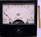 М2001 Микроамперметр, миллиамперметр, амперметр щитовой постоянного тока., фото 2