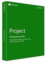 MS Project Pro 2016 32-bit/x64 Russian Kazakhstan Only EM DVD