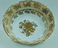 Салатник 23 см Золотая Роза (Epiag Lofida, Чехия)
