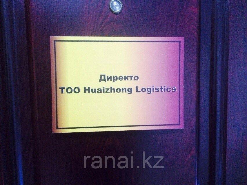 Таблички на двери
