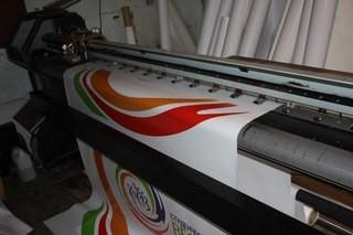 Печать на флаговой ткани в Алматы.