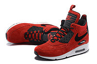 Зимние кроссовки Nike Air Max 90 Sneakerboot Ice Red (40-46), фото 3