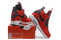 Зимние кроссовки Nike Air Max 90 Sneakerboot Ice Red (40-46), фото 6