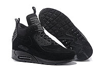 Зимние кроссовки Nike Air Max 90 Sneakerboot Ice Black (40-46)