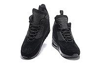 Зимние кроссовки Nike Air Max 90 Sneakerboot Ice Black (40-46), фото 4