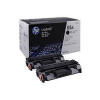 HP CE505D 05A Dual Pack Black Print Cartridge