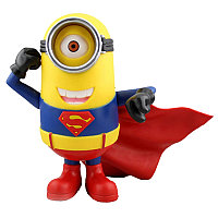 Статуэтка Гадкий Я – Миньон Супермен-Стюарт Синквэй Тойс, Despicable Me – Minion Stuart Superman Costume Statu