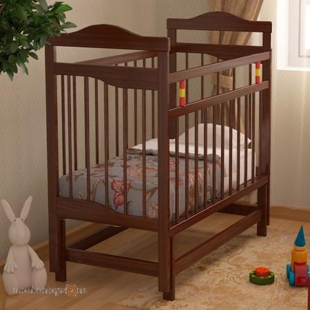 Детская кровать Колибри (орех, венге)
