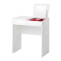 Туалетный столик БРИМНЭС белый ИКЕА, IKEA  , фото 1