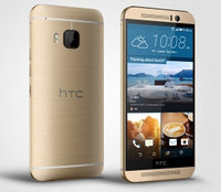 Смартфон HTC One (M9) EEA Gold on gold  5 дюйм. WAP, GPRS, EDGE, HSDPA, HSUPA, HSPA+ 2840 мАч Wi-Fi 802.11ac, Wi-Fi Direct, Bluetooth 4.1, IRDA, USB,