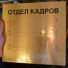 Таблички на двери с карманами, фото 5