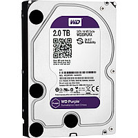 "Жесткий диск HDD SATAIII 2Tb Western Digital Purple  6Gb/s 64Mb 3,5"" WD20PURX"