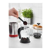УПХЕТТА Кофе-пресс/заварочный чайник, стекло, нержавеющ сталь, фото 1