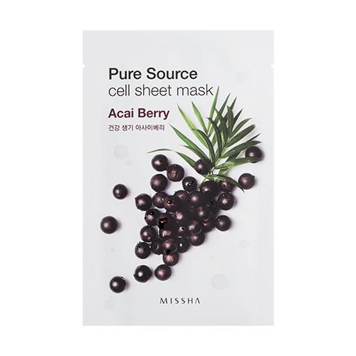 Pure Source Cell Тканевая маска с экстрактом ягоды асай