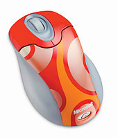 Microsoft Wireless Optical Mouse - Groovy (Ps2/USB)