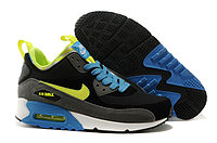 Зимние кроссовки Nike Air Max 90 Sneakerboot Black gray Yellow (40-46)