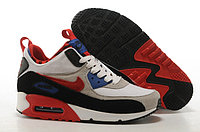 Зимние кроссовки Nike Air Max 90 Sneakerboot gray Red Black (40-46)