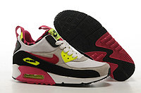 Зимние кроссовки Nike Air Max 90 Sneakerboot Gray White Red Black (36-40)