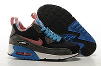 Зимние кроссовки Nike Air Max 90 Sneakerboot Dark gray Pink Black (36-40)