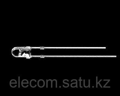 Светодиод Led 3mm Белый