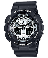 Casio G-Shock GA-100BW-1A, фото 1