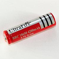 Аккумулятop 3,7v 4200mAh  18650  Li-ion UltraFire