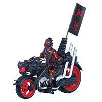 """Мотоцикл """"Черепашки-Ниндзя"""" с уникальной фигуркой Фут-ниндзя"""