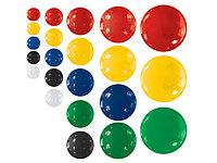Набор магнитов d.30, 10 шт/блистере, цвета ассорти