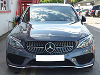 Решетка радиатора на Mercedes-Benz  W205 GRILLE AMG BLACK