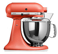 KitchenAid 5KSM150PSECD тестомес для дома миксер планетарный, дежа 4.83л., 3 насадки, терракотовый