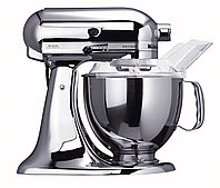 KitchenAid 5KSM150PSECR планетарная тестомесильная машина, дежа 4.83л., 3 насадки, хром