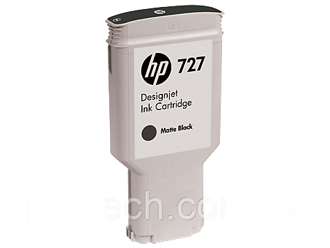Cartridge HP/C1Q12A/Ink/matte black/№727/300 ml