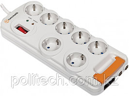Network filter Tuncmatik/7 Outlets Surge Protector/7 sockets/1,5 m/10 А