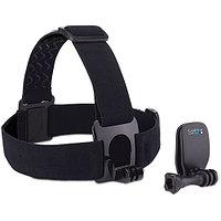 GoPro® Крепление на голову + крепление-клипса на одежду для GoPro (Headstrap + QuickClip), фото 1