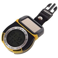 Цифровой компас, высотомер, барометр и термометр на солнечной батарее, фото 1