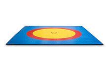 Покрышка для борцовский ковера трехцветный 12м х 12 м, фото 3