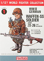 Солдат W.W.II German Soldier & ZB26