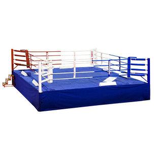Ринг боксерский 5 х 5 м с помостом 6,1 х 6,1, фото 2