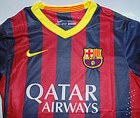 Оригинал футбольная форма ФК Барселона, фото 2