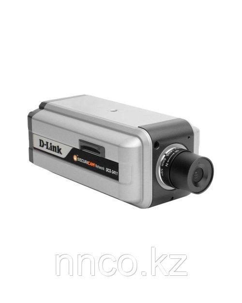 D-Link DCS-3411 Securicam Network IP-камера с поддержкой PoE и видео для мобильных телефонов 3G
