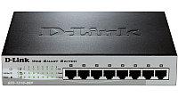 D-Link DES-1210-08P/B1A (C1A)Настраиваемый комм 8 порта , фото 1