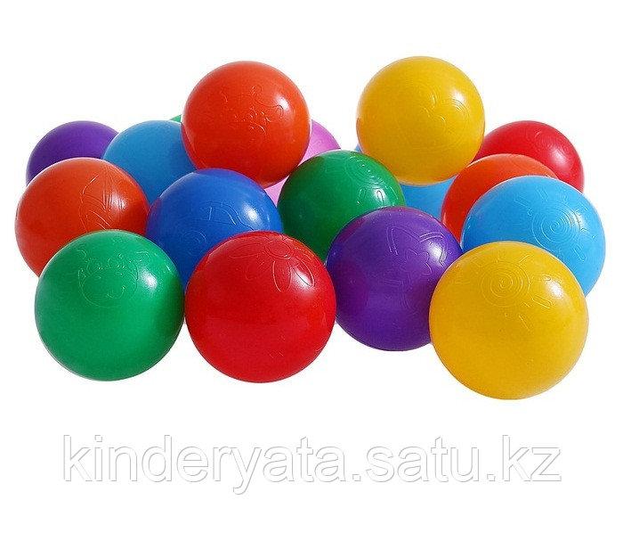 Шарики для сухого бассейна с рисунком, диаметр шара 7,5 см, набор 90 шт