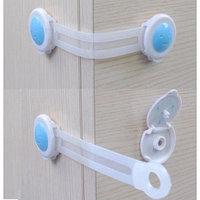 Приспособление для блокировки дверей шкафов от детей (2 шт). Bendy Door Safety Lock