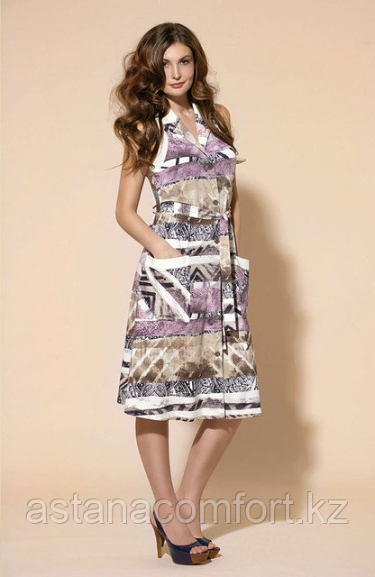 Халат-платье женский для дома. Laete