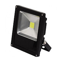 Led прожектор 30W LED FL003 SLIM 30W BLACK 6000K