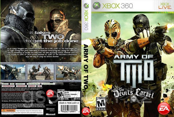 Army of two:The Devil's Cartel  - ИП «GService» в Алматы