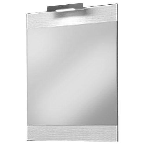 """""""Бриг""""панель с зеркалом и светильником, цвет дуб седой, Br.02.06/Gray, ТМ «AQWELLA»"""