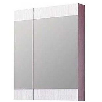 """Бриг""шкаф-зеркало, цвет дуб беленый, Br.04.06/Milk, ТМ «AQWELLA»"